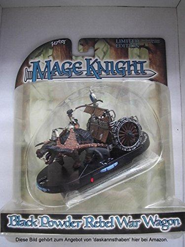 Mage Knight Lmited Edition Black Powder Rebel War Wagon from Mage Knight