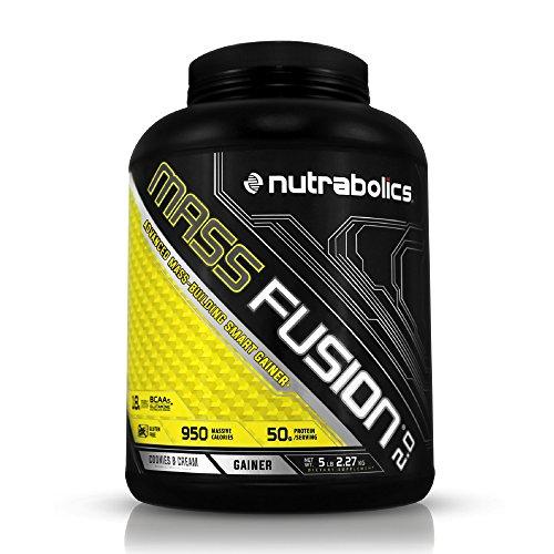 - Nutrabolics Mass Fusion Cookies N' Cream 5lb (9 Servings)