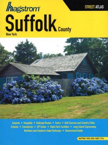 Hagstrom Suffolk County, New York Street Atlas