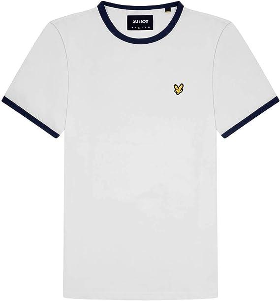TALLA XS. Lyle & Scott Ringer T-Shirt Camiseta para Hombre
