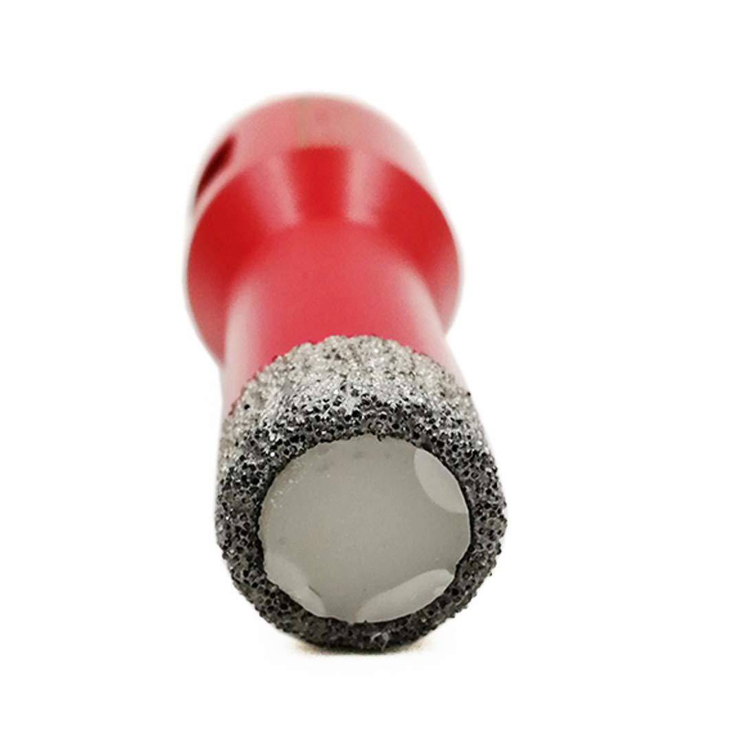 SHDIATOOL 2Pcs Forets Diamant/és Bras/é Sous Vide avec Connexion M14 Diamant Hauteur 10MM pour Carrelage C/éramique Granit Pierre Dia 16mm