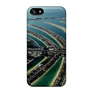 Awesome Dubai Palm Island Flip Case With Fashion Design For Iphone 5/5s