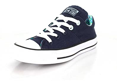 6678cd7735b8 Converse Womens Chuck Taylor All Star Madison Ox Athletic Navy Fiberglass  Sneaker - 7.5