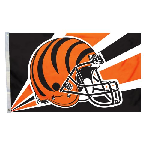 NFL Cincinnati Bengals 3-by-5 Foot Helmet - Mall Anaheim