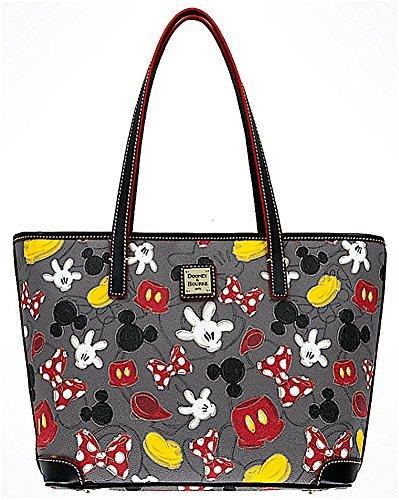 Disney Dooney and Bourke Best of Mickey Minnie Body Parts Tote Handbag Purse