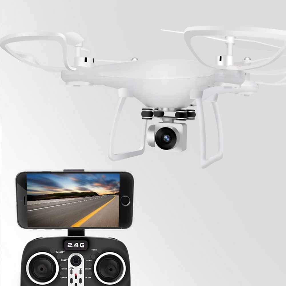 FTOPS FPV-Drohne 720P HD-Kamera Live-Video-GPS-Heimkehr, RC Quadcopter Erwachsene Anfänger Headless-Modus, Höhenstand, One Key-Start/Landing und 3D-Flip