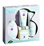 Live Clean Baby Soothing Oatmeal Starter Gift Set, 4 Count