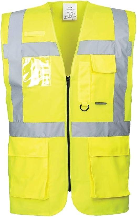 GLO-077 4X-Large Global Glove /& Safety Manufacturing GLO-077-4XL FrogWear HV High-Visibility Photoluminescent Surveyors Safety Vest