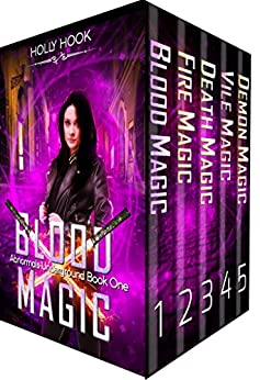 The Abnormals Underground Box Set [Books 1-5][A Teen Urban Fantasy Collection] by [Hook, Holly]