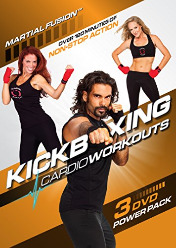 Kickboxing Cardio Workouts 3 DVD Power Pack for Fat Burn Burn Pack