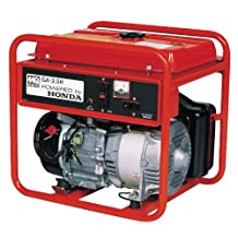 Multiquip GA25H Portable Generator with Honda Motor, 4.8 HP, 120V 2500W Output