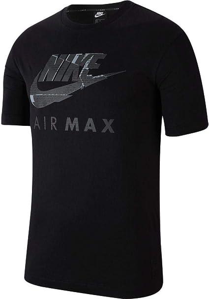 Nike Air Max Camiseta de manga corta para hombre: Amazon.es ...