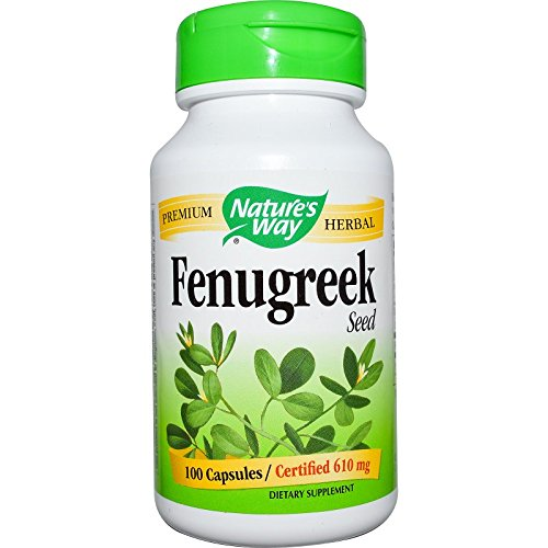 Natures Way Fenugreek Seed, 610mg 100 Capsules