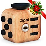 Best Fidget Cube by Zippi. Prime toy. reduce anxiety and Stress Relief for Autism, ADD, ADHD & OCD.