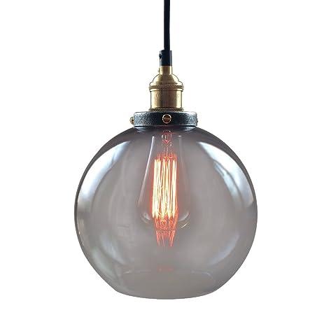 Westmenlights 10022001 encircled edison bulb smoke glass globe westmenlights 10022001 encircled edison bulb smoke glass globe pendant chandelier aloadofball Images