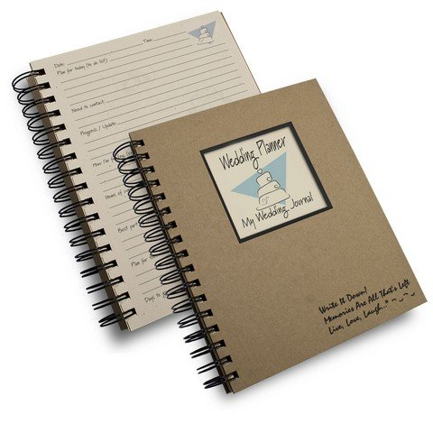 Wedding Planner, My Wedding Journal - Kraft Hard Cover