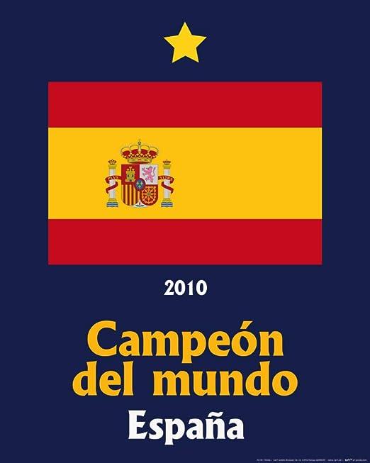 1art1 Fútbol - España Campeon del Mundo 2010 Póster Impresión ...