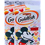 New Pepperidge Farm Goldfish Baked Special Edition Cheddar Mickey Mouse Net Wt 6.6 Oz (2 Pack)