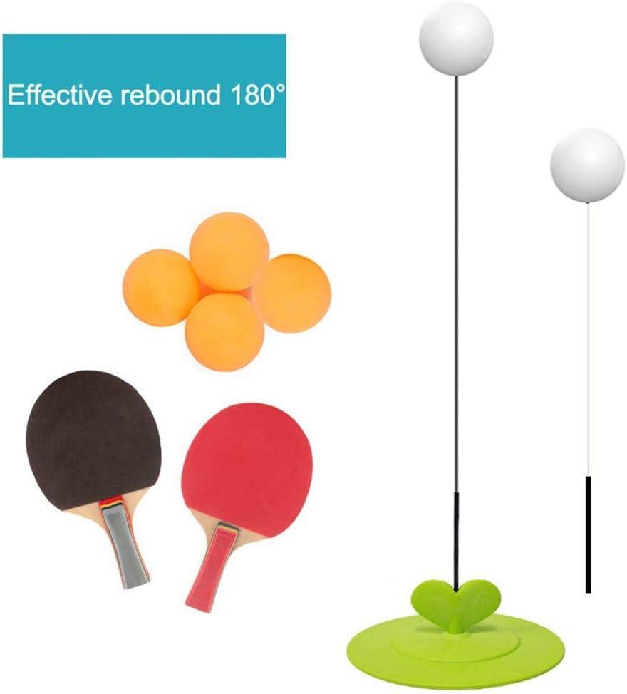 TOMATION Entrenador de tenis de mesa con herramientas elásticas de ping pong de eje suave para principiantes, niños, niños, niñas, uso en exteriores o interiores new release classical