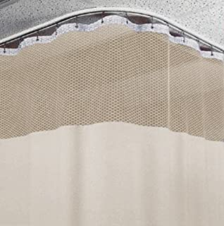 10 ft medical curtains w track hospital lab clinic room 10ft high beige