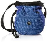 prAna Large Women'S Chalk Bag W/Belt, Equinox Blue Geo, One Size