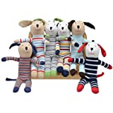 Under The Nile Scrappy Dogs - Assorted Patterns, Sold Individually