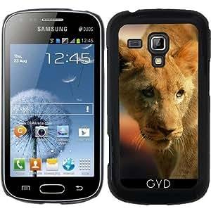 Funda para Samsung Galaxy S Duos S7562 - Lion_2015_0101 by JAMFoto