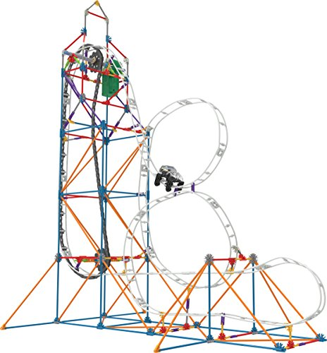 K'NEX - Looping Light-Up Roller Coaster Building Set - 448 Pieces - (Plastic Roller Coaster)