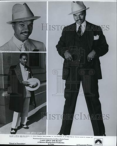 Historic Images - 1972 Press Photo Billy Dee Williams in Lady Sings The Blues. (Billy Dee Williams Lady Sings The Blues)