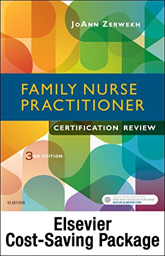 Family Nurse Practitioner Certification Reviewer   Elsevier Ebook On Vst   Evolve  Retail Access Cards   3E