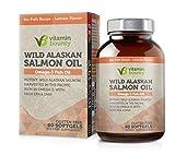 Vitamin Bounty Omega 3 Fish Oil - Sourced from Wild Alaskan Salmon - High in EPA, DHA, Omega 3, 6 and 9 …