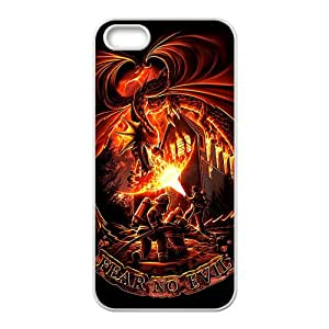 Firefighter Fear No Evil Dragons Cell Phone Case for Iphone 5s