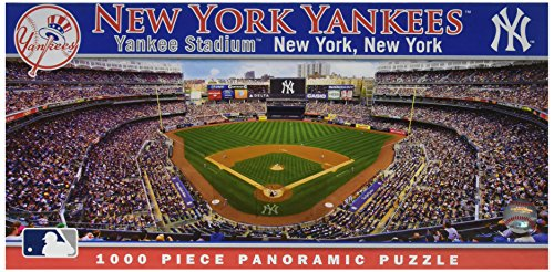 (MasterPieces MLB New York Yankees Stadium Panoramic Jigsaw Puzzle, 1000-Piece )
