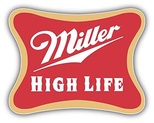 valstick Miller High Life Logo Car Bumper Sticker Decal