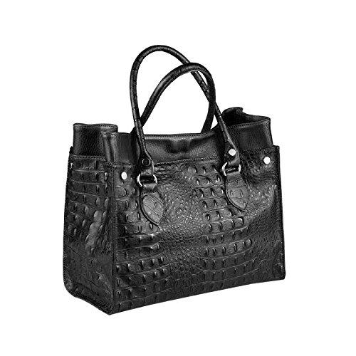 OBC Only-Beautiful-Couture, Borsa a spalla donna Blu blu/bianco ca.: 31x26x15 cm (BxHxT) nero