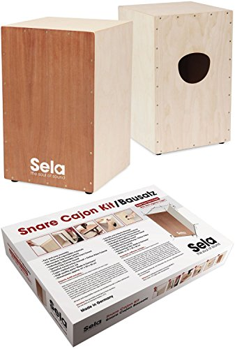 Sela SE 001 Snare Cajon Kit with Instructions and Audio CD