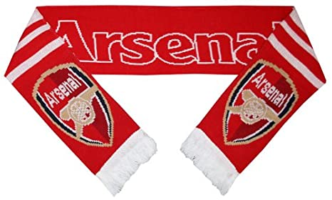 b40154436434e official arsenal team scarf  Amazon.co.uk  Sports   Outdoors