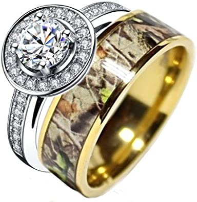Amazon Com Kingswayjewelry Sterling Silver Gold Plated Titanium