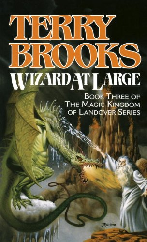book cover of Wizard at Large