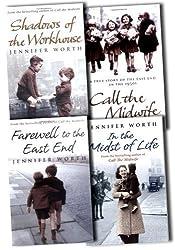 Jennifer Worth Collection 4 Books Set Pack