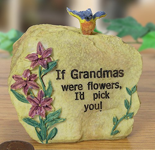 Grandma Message Stone 3 1/2