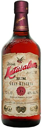 Ron Matusalem Gran Reserva 15, (6 x 0,7 l): Amazon.es ...