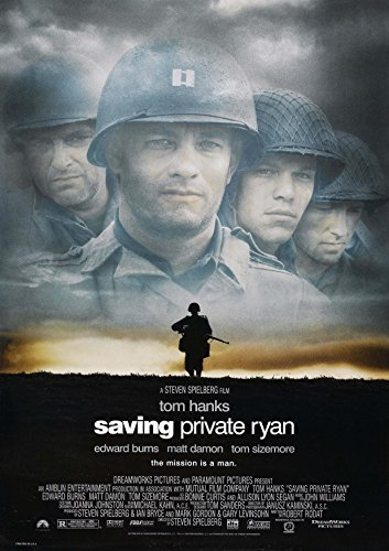 Posters USA - Saving Private Ryan Movie Poster GLOSSY FINISH) - MOV112 (24'' x 36'' (61cm x 91.5cm)) by Posters USA