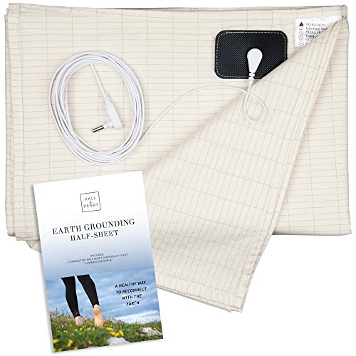 """HALL & PERRY Earthing Half Sheet with Grounding Connection Cord 