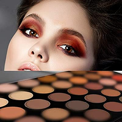 Artist Eye Shadow Palette by The Beauty Box- 35 COLORS