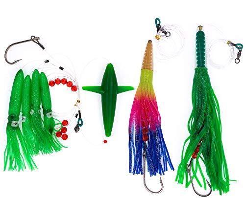 Sanhu Birds Daisy Chain - Green Machine Lures Combo A