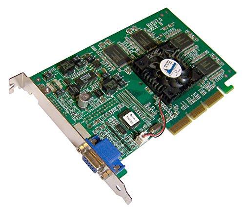 - NVIDIA - Nvidia Geforce 32MB NV15 AGP Card GEFORCE-NV15-32MB 2x4x VGA Video Card - GEFORCE-NV15-32MB