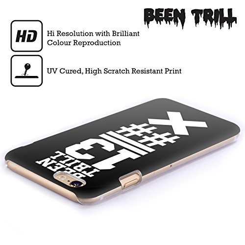 Official Been Trill Black X Jersey Hard Back Case for Apple iPhone 5 / 5s / SE