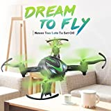USHOT Mini JJRC H48 Mini Drone 6 Axis 2.4G RC Micro Quadcopters Remote Control For Kid- Drones/Drone Charger/Quadcopter Drone Batteries/RC Helicopter Parts /