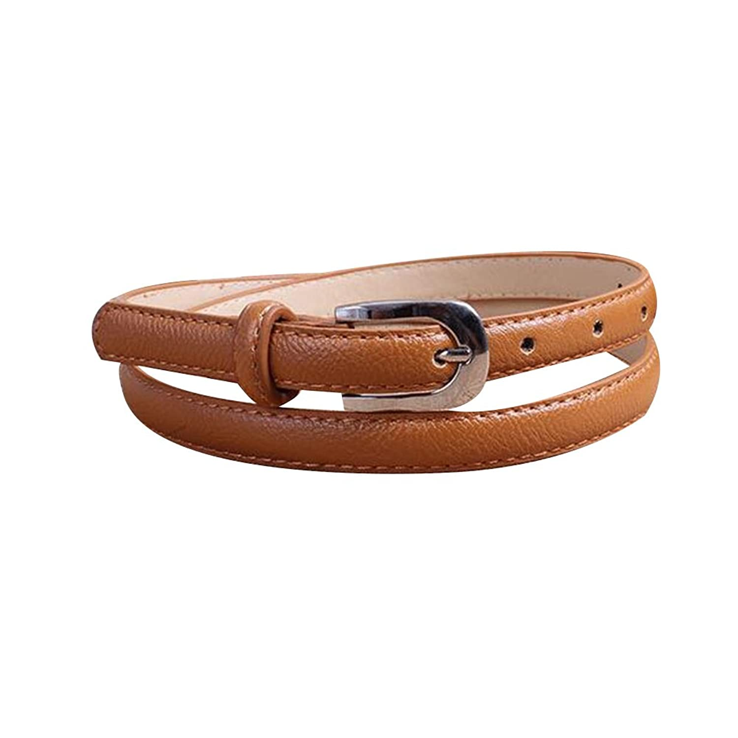 Sitong Fashion Alloy pin buckle PU leather belts(7 colors)